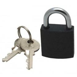 Tri-circle iron padlock, 25mm