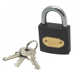 Tri-circle iron padlock, 32mm