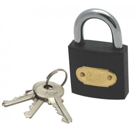 Tri-circle iron padlock, 38mm