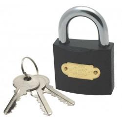 Tri-circle iron padlock, 50mm
