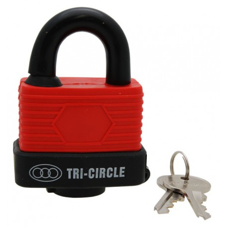 Weatherproof Padlock, 50mm. Mixed Colours
