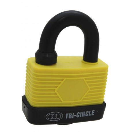 Weatherproof Padlock, 65mm. Mixed Colours