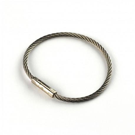 Twisty Stainless Steel Security Key Ring