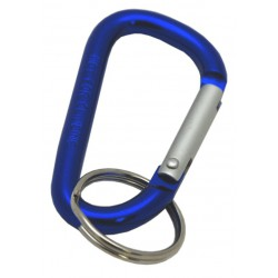 Blue Carabiner Clips, 60mm
