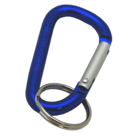 Blue Carabiner Clips, 60mm