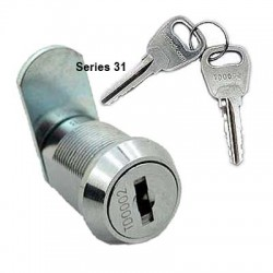 10 disc, double entry, die-cast cam lock, nut fixing, 20mm, operated by the same key