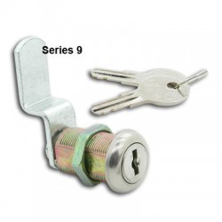 5 disc, die-cast, 'Thrifty' cam lock, 16mm, operated by the same key
