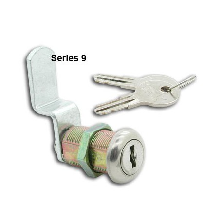 5 disc, die-cast, 'Thrifty' cam lock, 23mm, operated by the same key