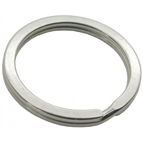 35mm Flat Split Rings