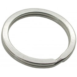 30mm Flat Split Rings