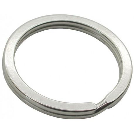 30mm Flat Split Rings