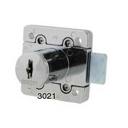 6 disc rim lock, for right hand doors, operated by the same key