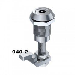 Vibration resistant lock with long rear shaft, 6mm compression, 8mm tri drive driver