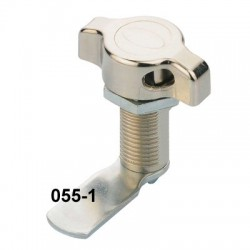 Padlockable, quarter turn latch, 32mm long body, 90