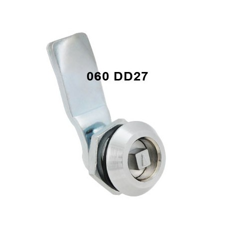 7mm square drive quarter turn cam lock