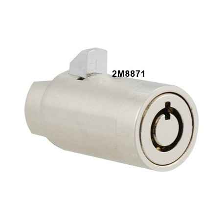 7 pin, short length locking insert, operated by the same key