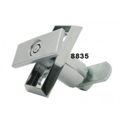 Surface mounted, short length, tubular body T-handle (requires 88870 or 8870 insert)