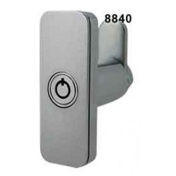 Surface mounted, compact, slimline, tubular body T-handle, chrome (requires a 2M8871/65 locking insert)