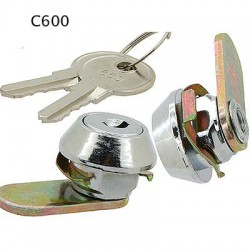 Micro size, 3 disc, 8mm, fast fit cam lock, operated by same key