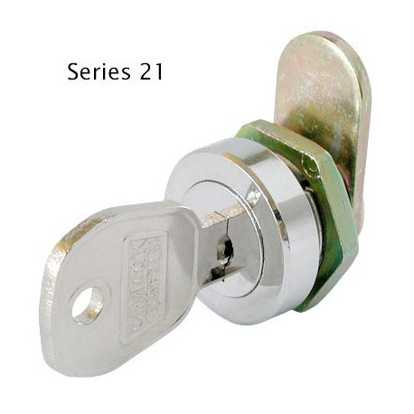 Micro size, 5 disc, 8mm, die-cast cam lock, operated by the same key